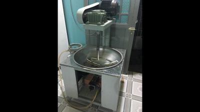 Chảo sào nhân/ máy sên nhân