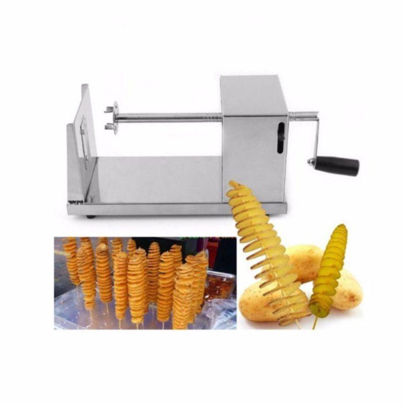máy cắt khoai tây vuông