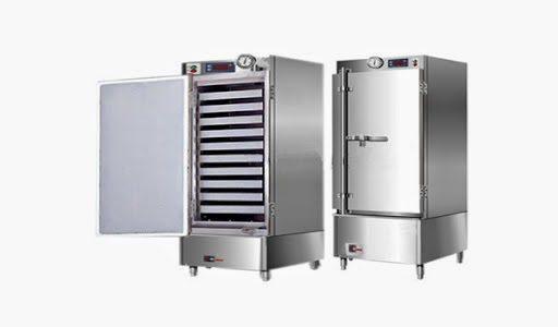 tủ nấu cơm công nghiệp 10 khay