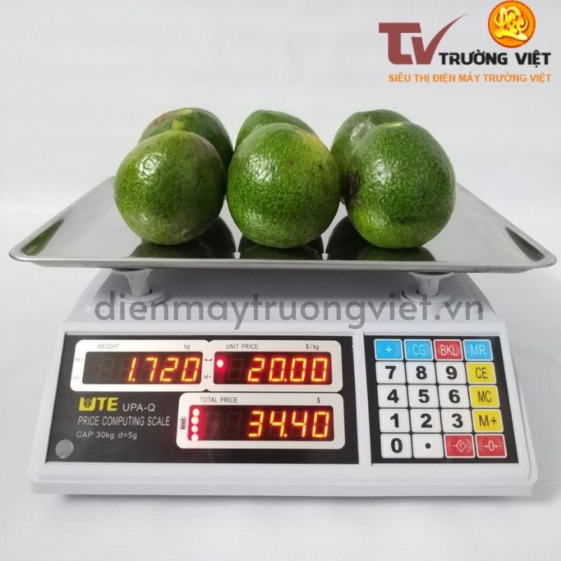 Cân tính tiền thích hợp khi cân rau củ, hoa quả