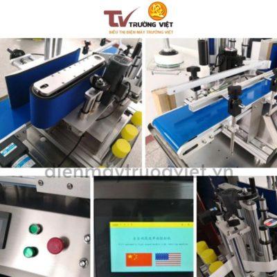 Cấu tạo của máy dán nhãn chai tròn tự động