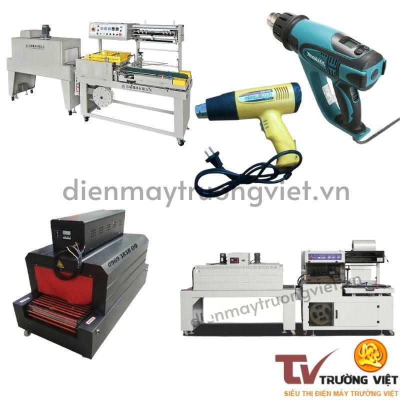 Các loại máy bọc màng co nhiệt phổ biến nhất