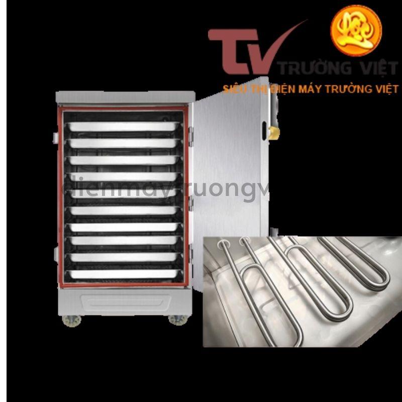 Cấu tạo của tủ nấu cơm công nghiệp 10 khay Trường Việt