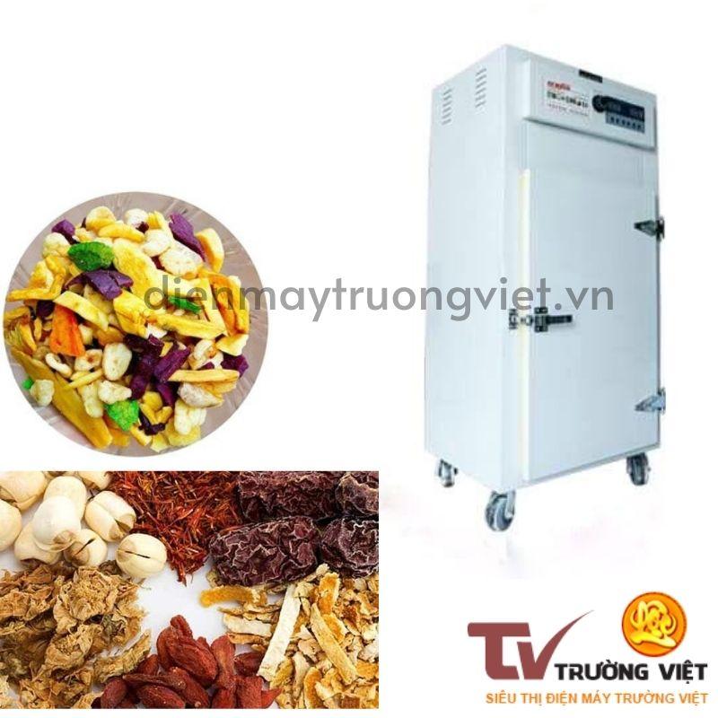 Tủ sấy khay công nghiệp sử dụng cho nhiều loại sản phẩm