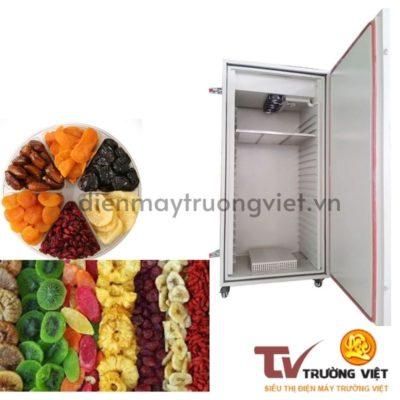 Sử dụng tủ sấy khay inox đảm bảo an toàn vệ sinh và giữ được dinh dưỡng của nguyên liệu