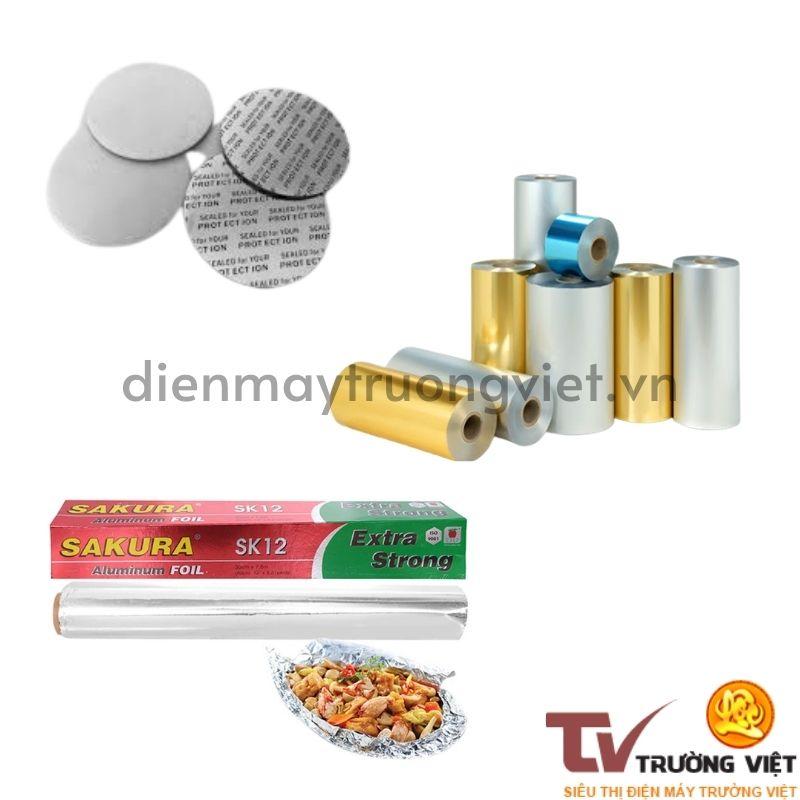 Màng nhôm có thể được kết hợp thêm các chất liệu khác để đáp ứng mục đích sử dụng