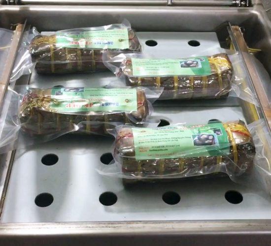Bánh tét hút chân không để được bao lâu?