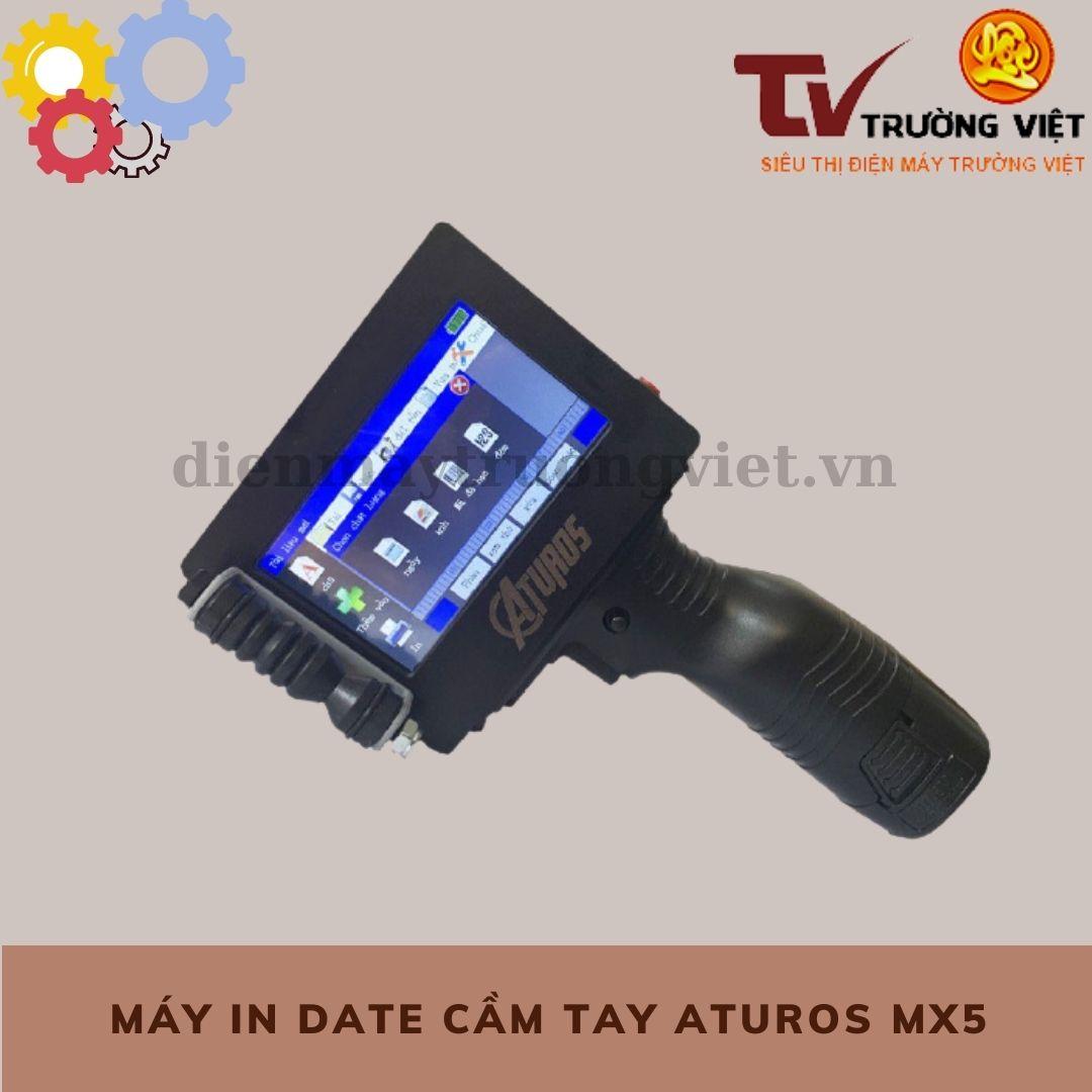 Máy in date cầm tay Aturos MX5