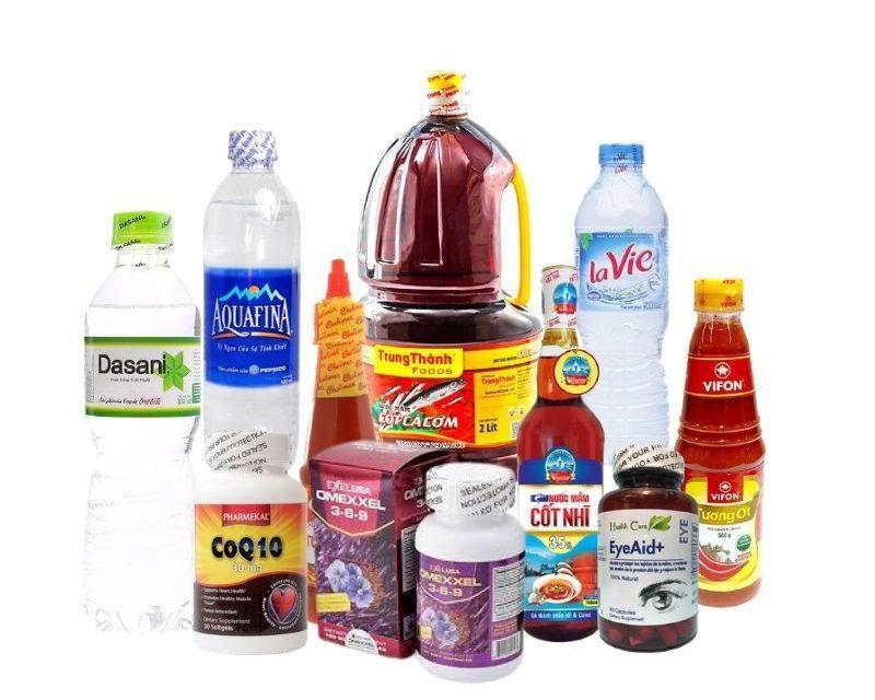 Màng co nhiệt nắp sử dụng cho nhiều loại hàng hóa khác nhau