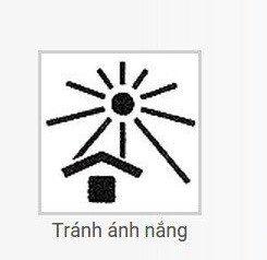 Tránh ánh nắng trực tiếp
