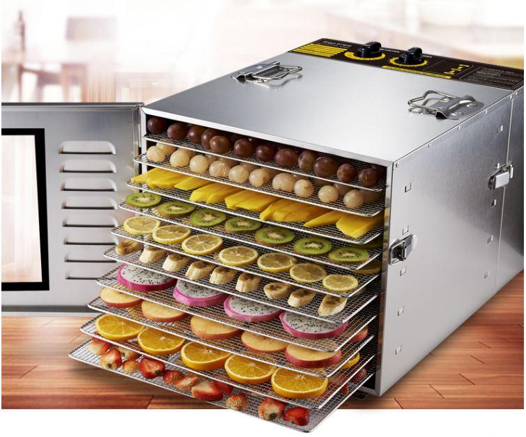 Sử dụng máy để sấy thực phẩm nhanh chóng