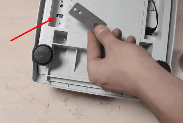 Hướng dẫn sử dụng cân điện tử cas - Nút chạm để hiệu chuẩn cân