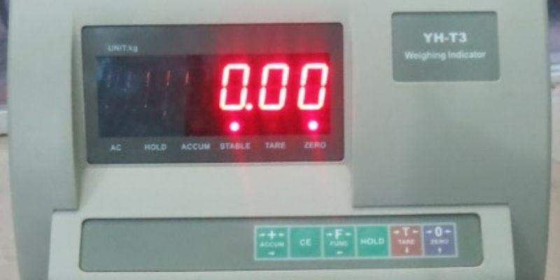 LCD 6 số, đèn Led màu đỏ