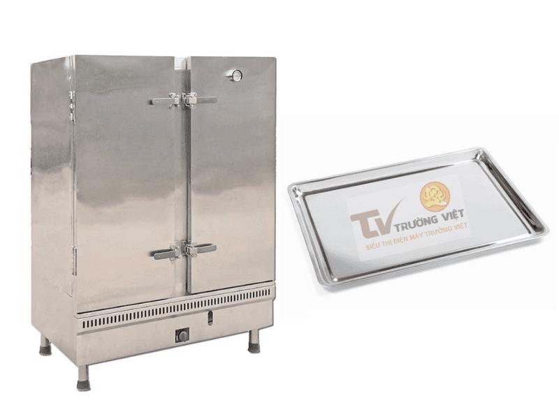 Giá tủ cơm công nghiệp 100kg - Tủ hấp thực phẩm 24 khay