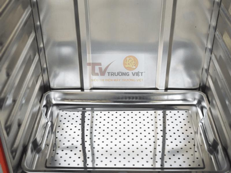 Vỏ tủ cơm công nghiệp bằng chất liệu inox