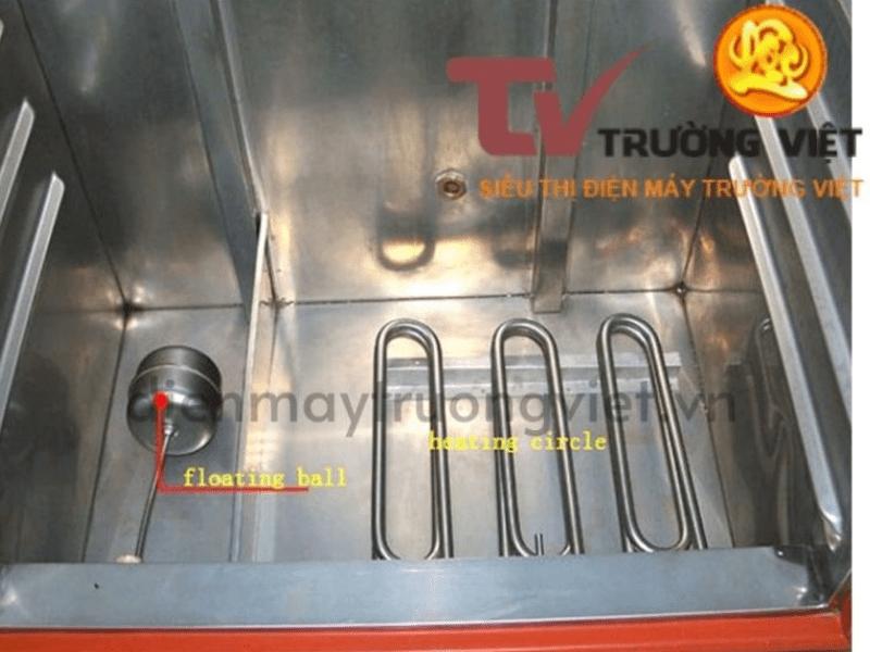 hệ thống nhiệt tủ cơm