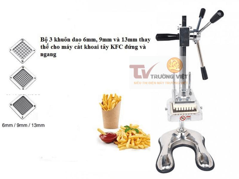máy cắt khoai tây công nghiệp