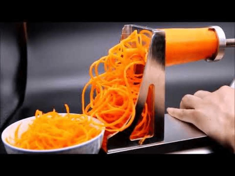 Máy cắt cà rốt, khoai tây dạng sợi