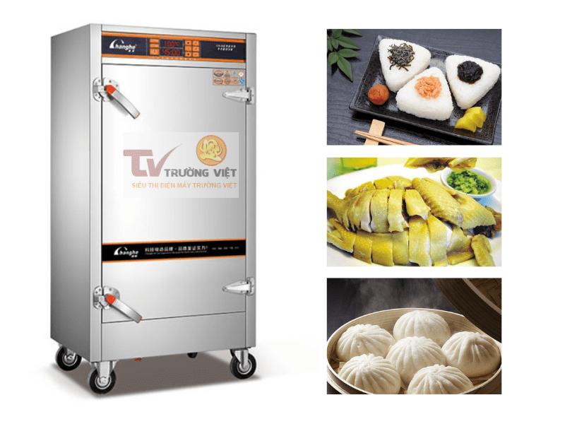 giá tủ nấu cơm công nghiệp