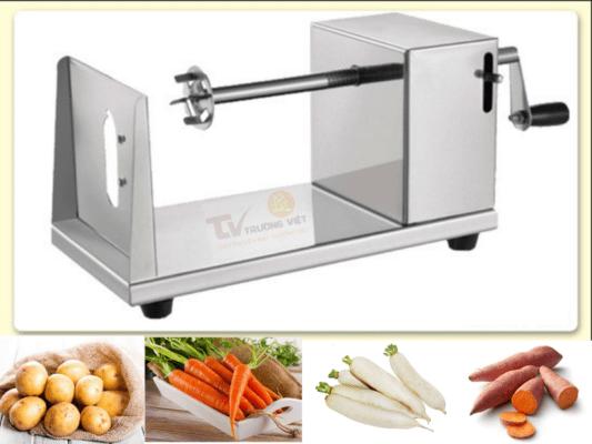 Máy cắt khoai tây sợi dài